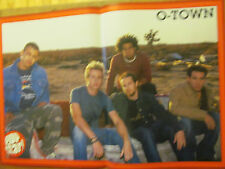 O-Town, Justin Guarini, Double Two Page Centerfold Poster