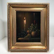 P. C. Steenhouwer (Dutch, 1896–1972) Original Oil Painting On Board Framed