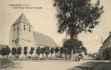 CPA Longnes-Carrefour de la Fortelle (260254)