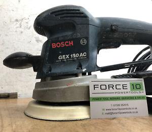 Bosch GEX34-150 150mm Random Orbital Sander 240v 3 Pin Uk Plug
