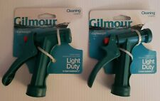 2 Gilmour Lightweight, Cleaning, 501 Light Duty Poly Pistol Grip Spray Nozzle