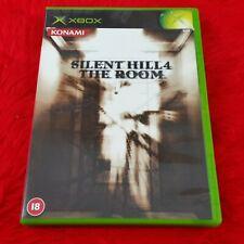 Origine Xbox SILENT HILL 4 THE ROOM Un Survival Horror Game Microsoft PAL UK