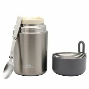Thermos Vacuum Insulated Lunch Box Bottle Food Jars Container Stainless Steel