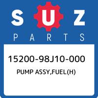 15200-98J10-000 Suzuki Pump assy,fuel(h) 1520098J10000, New Genuine OEM Part