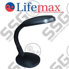 Lifemax High Vision Reading Light - Black Table Lamp