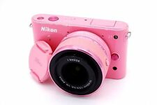 NIKON 1 J1 10.1 MP 3''Screen Camera with 10-30mm 1/3.5-5.6 VR Lens - PINK