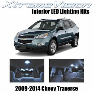 XtremeVision Interior LED for Chevy Traverse 2009-2014 (6 PCS) Cool White