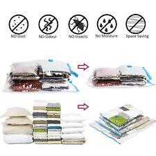 HOT 30PCS sac à Vêtements Rangement plastique Sacs de Rangement Sous Vide blanc