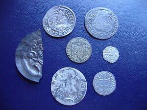 European hammered silver coins (7)