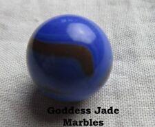 "Antique Akro Prize Name 5/8"" Goddess Jade Marbles"