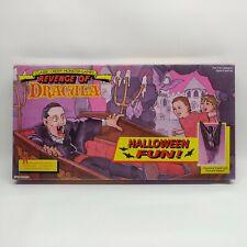 NEW Sealed Vintage Revenge of Dracula Board Game Pressman 1991 Halloween Vampire