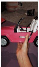 Pink Barbie Jeep Car