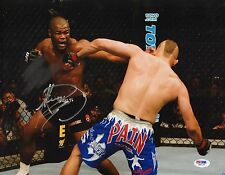 Rashad Evans Signed UFC 88 11x14 Photo PSA/DNA COA Chuck Liddell KO Picture Auto