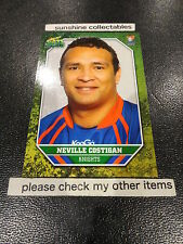 2011 NRL SELECT CHAMPIONS BASE CARD NO.92 NEVILLE COSTIGAN NEWCASTLE KNIGHTS