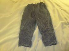 """Women's Vtg 80's ACID WASH Jeans Tapered Blue measures 12"""" flat/adjustable 1249"""