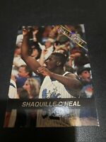 1992-93 Ballstreet News Shaquille O'Neal NMMT Rookie Card Orlando Magic Draft