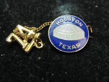 Houston Oilers Football Stadium NFL 1974 souvenir pin Texas (17i2)