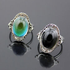1Pcs Charm Temperature Control Jewelry Change Color Mood Rings Kid Child Adjust