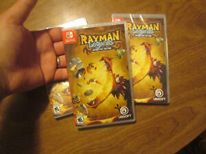 Rayman Legends: Definitive Edition Nintendo Switch NEW FACTORY SEALED US EDITION