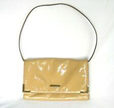 MICHAEL Michael Kors Nude Patent Leather Envelope Flap Bag Convertible Clutch