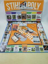 Stihl Opoly Stihlopoly Board Game Rare In Original Packaging