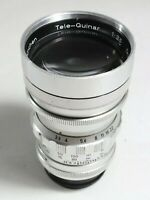 Steinheil Munchen TELE-QUINAR 3.5 135mm Lens M39 mount Leica UK Fast Post