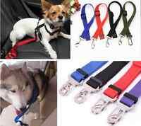 Pet Leash Seat Belt Harness Restraint Dog Collar Leads Travel Clip Car Safety