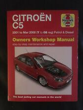 Citroen C5 Owners Workshop Manual / Reparaturanleitung - NEU !!!