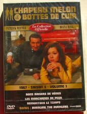 DVD CHAPEAU MELON ET BOTTES DE CUIR - MACNEE / RIGG - REMASTERISE - NEUF