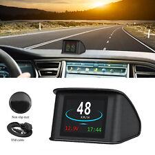 P10 Premium Smart Vehicle Digital HUD Head Up Display OBD2 Car Speed Projector