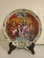 Knowles Wizard of Oz Musical Collector Plate We Are Off to See the Wizard