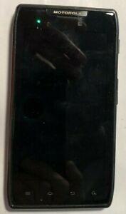 [BROKEN] Motorola Razr Droid 8GB XT908 Black Verizon Cell Phone Very Good Used