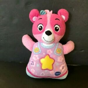 VTech - Soothing Songs Bear - Pink, Sings, Talks, and Lights up! QUICK SHIPPING!