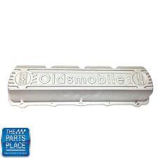 """1964-90 Oldsmobile Valve Cover - """"Oldsmobile"""" - Block Letters - Aluminum - Each"""