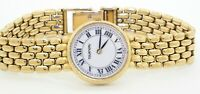 Tourneau heavy 14K yellow gold elegant high fashion ladies quartz watch