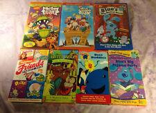 Nickelodeon Orange VHS 90s Rugrats ren & stimpy Clarisa Blues Clues Little Bear