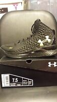 Under Armour UA Curry 1 One SC 30 Mid Black & Gold Banner Out 1258723-008 MVP
