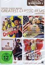 DVD NEU/OVP - Heroes Of Western 1 - Greatest Classic Film Collection - 4 Filme