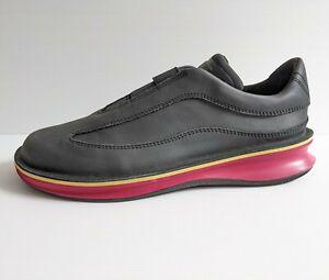 Camper Womens Black Pink Rolling Slip On Colourblock Sneakers  - K200741-008 NEW