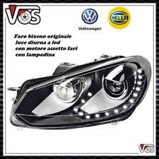 Faro proiettore anteriore bixeno led VW GOLF 6 GTI GTD R20 ORIGINALE HELLA SX IV