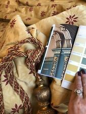"Beautiful Gold Heavy Curtains 55"" w x 86.5"" d per curtain"
