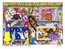 James Rizzi ▪ 3D - Vorlage 2001 ▪ CANINE CONNECTION ▪ betitelt und datiert
