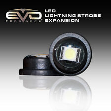 EVO Ultra-Mini LED Bulbs Strobes Light Expansion Pack Amber 2-Pack for Car-Truck