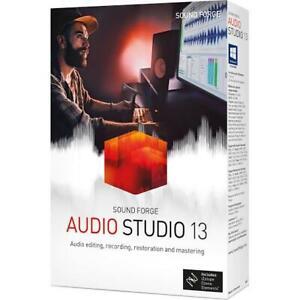 Magix Sound Forge Audio Studio 13 Digital Software for Windows (READ DESCRIPTION