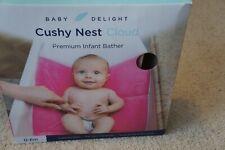 Baby Delight Cushy Nest Cloud Bather Pink