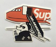 Supreme Airplane Vinyl Sticker Decal