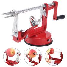 3in1 Red Kitchen Tool Apple Peeler Slinky Machine Fruit Cutter Slicer Corer AU