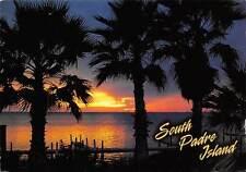 USA South Padre Island Texas Gulf Coast Sunset