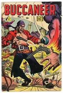Buccaneer 1 IW/Super Comics Crandall Burgos Ward VG