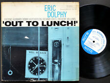 ERIC DOLPHY Out To Lunch! LP BLUE NOTE BLP 4163 US 1964 NY MONO Freddie Hubbard
